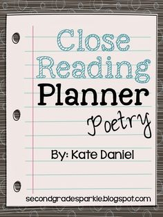 Hi friends! I'm absolutely thrilled to be a guest blogger here on Rachel's site! Today I'd like to talk about close reading and share how I used Maya Angelou's poem 'H…