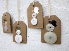 Schneemannanhänger für Weihnachten