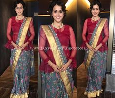 Sheer Net Blouses 2017, Latest Net Blouse Designs 2017, See Through Saree Blouses 2017