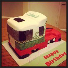 Eddie Stobart cake x