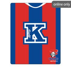 nrl-team-logo-polar-fleece-printed-155x127cm-throw-newcastle-knights Nrl Merchandise, Newcastle Knights, Quilt Cover Sets, Astros Logo, Polar Fleece, Team Logo, Quilts, Printed, Logos