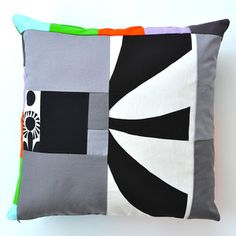 Boogaloo Pillow 16x16 now featured on Fab.