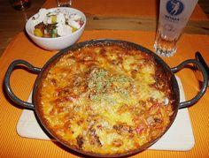 Gyros - Kritharaki - Auflauf Recipes bbc food and drink Greek Recipes, Pork Recipes, Vegetarian Recipes, Pasta Recipes, Cooking Recipes, Casserole Dishes, Casserole Recipes, Good Food, Yummy Food