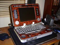 Ben Heckendorn, master of stuffing old gaming consoles into portable packaging has revealed what is arguably his most intricate project yet, a homemade laptop filled with Atari 800 guts.