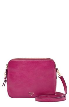 Fossil 'Sydney' Leather Crossbody Bag available at #Nordstrom