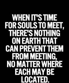 Souls to meet