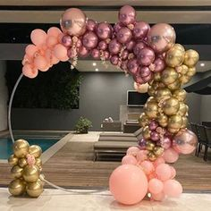 No photo description available. Balloon Columns, Balloon Garland, Balloon Arch, Birthday Party Decorations, Baby Shower Decorations, Birthday Parties, Balloon Decorations Party, Themed Parties, Engagement Balloons