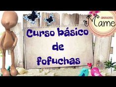 Curso basico de fofuchas Creaciones Mamen - YouTube Foam Crafts, Decor Crafts, Diy And Crafts, Crafts For Kids, Box Surprise, Family Presents, Cute Clay, Clay Figures, 3d Paper