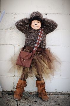 #starwars #halloween #dyi #chewbacca #costume