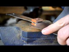 Bloodroot Blades knife making