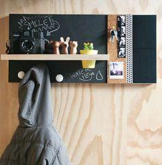 Créer un meuble déco dans l'entrée DIY (idee-creative.fr)