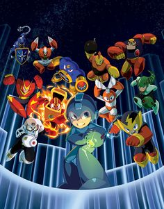 Mega Man Legacy Collection by theCHAMBA on @DeviantArt