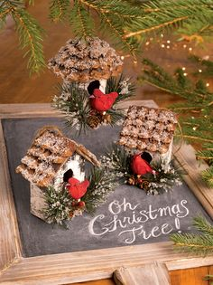 Cardinal Birdhouse Ornaments, Set of 3 | Gardener's Supply