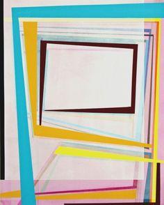 "Gary Peterson  Passage  2011  Acrylic & Oil on masonite panel  20"" x 16"""