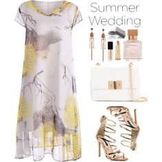 Say I Do: Summer Weddings (plus size dress) by beebeely-look on Polyvore featuring polyvore, fashion, style, Tom Ford, Burberry, Kevyn Aucoin, Maison Francis Kurkdjian, clothing, wedding and summerwedding