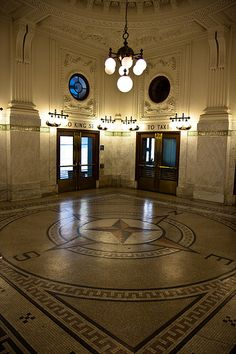 Restored section of Seattle Train Station. IMG_8346  LR edit by StevenC_in_NYC, via Flickr