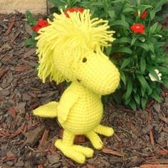 Crochet Woodstock Pattern....