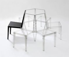 'R60' Grid Chair by Jaebeom Jeong » Yanko Design