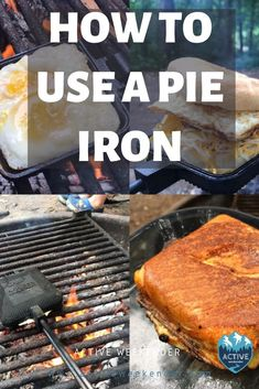 Learn how to cook awesome camping meals with a pie iron. Camping Guide, Camping Recipes, Camping Meals, Learn To Cook, Food To Make, Hobo Pies, Pie Iron Recipes, Camping Cooker, Dutch Oven Camping