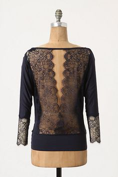 The back of a beautiful shirt at Anthro. Mode Top, Wedding Dress, Classy And Fabulous, Dress Me Up, Passion For Fashion, Dress To Impress, Just In Case, Style Me, Simple Style