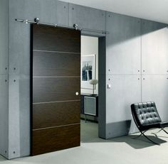 Supra sliding door by MWE! Design by Mario Wille