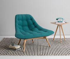 De Kolton fauteuil zorgt voor het ideale comfy zithoekje om heerlijk in weg te dromen. In 4 kleuren beschikbaar | made.com/nl
