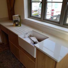 bianco de lusso white quartz worktops buntingford kitchen rock and co