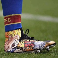 Everyone in football pages is talking about this shoe of Crystal Palace's Bakary Sako!!! Sadly the club which he plays for in the Premiere League is in the bottom of the table with 0 points! <----->  Double Tap to like it :) Tag a friend, who would like it ❤️  <--->  #thesupersaiyanstore #db #dbs #dbgt #dragonball #dragonballz #dragonballsuper #dragonballgt #dbsuper #Goku #songoku #gohan #songohan #goten #vegeta #trunks #piccolo #beerus #whis #supersaiyan #kamehameha #kakarot #manga #anime…