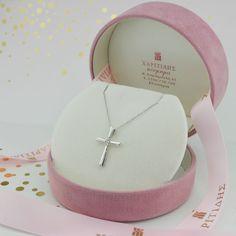 Σταυρός με διαμάντια ZH1008W