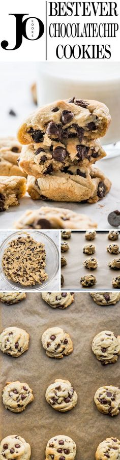 These Chocolate Chip Cookies are my go-to cookies for whenever we have a sweet tooth or want something yummy and quick. They& chewy, soft and simply the best chocolate chip cookies. Soft Chocolate Chip Cookies, Chocolate Chip Recipes, Baking Recipes, Cookie Recipes, Dessert Recipes, No Bake Treats, Yummy Treats, Sweet Treats, Just Desserts