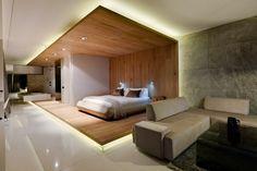 wohnbereich schlafbereich pod boutique hotel kapstadt