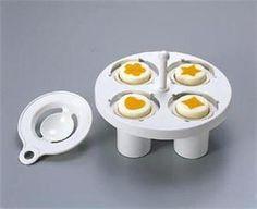 Makes cute eggs for Bento Boxes.
