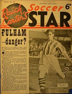 West Bromwich Albion Fc, Soccer Stars, Fulham, Vintage Football, Magazines, Journals