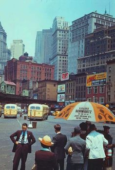 New York City 1940s | Stunning Color Pictures of New York City in 1940s