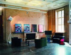 Haus der Kunst, Museum, Munich – ODIN sofa by Konstantin Grcic for ClassiCon