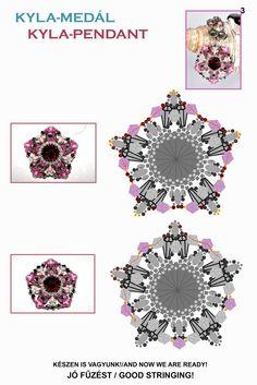 KYLA Pendant - FREE Pattern by Ewa Design. Page 3 of 3