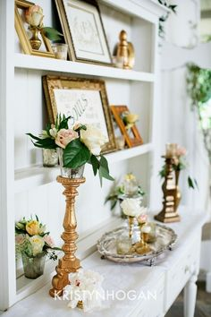 Mixed Metals in Wedding Decor! Yes, Please! Cedarwood Destination Military Wedding | Cedarwood Weddings #CedarwoodWeddings