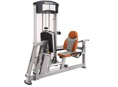 Máquina de musculación dual Leg press/ Calf extension DF101 de SportsArt.