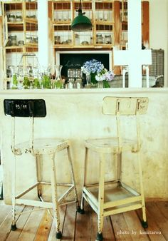 cafe. love the bar stools