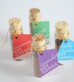 Inexpensive DIY favours to make for a Wedding or party
