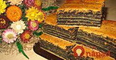 Vynikajúci makový koláčik, taký, aký vedeli len naše babičky. Z jediného plátu jemného cesta a tej najlepšej makovej náplne, akú si len viete predstaviť. Ochutnajte, je výborný!