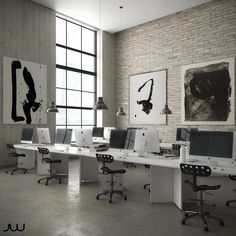 Loft Office on Behance
