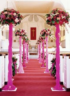 Aisle decoration  Keywords: #pewbows #aisledecor  #jevelweddingplanning Follow Us: www.jevelweddingplanning.com  www.facebook.com/jevelweddingplanning/
