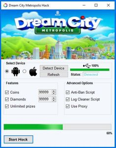 Dream City Metropolis Hack