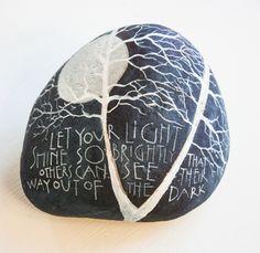 painted stones « Sam Cannon Art