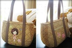 bags amateur hand Quilted