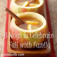 8 Ways to Celebrate Fall!