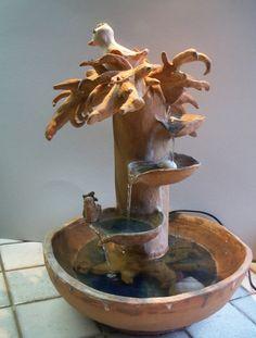 Arbre fontaine