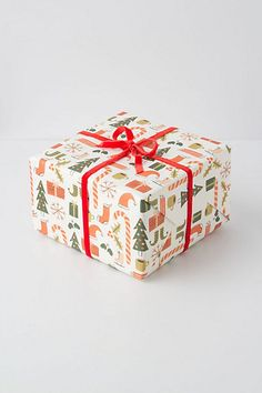 Good Tidings Wrapping Paper, Pine  $12.00
