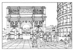1000 images about homeschool history year 1 rome on for Ancient rome coloring pages